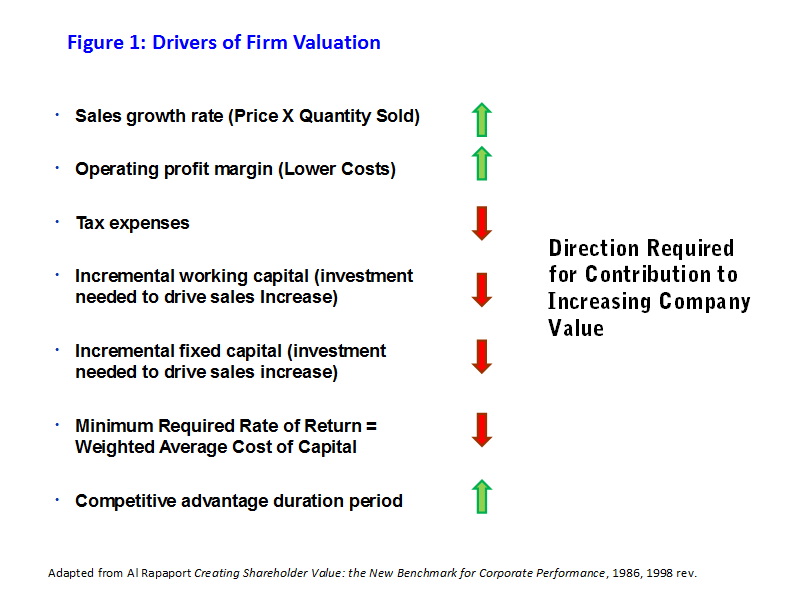 Figure 1: Drivers of Firm Valuation