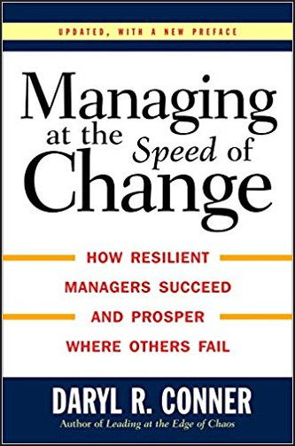 dale conner managing at the speed of change
