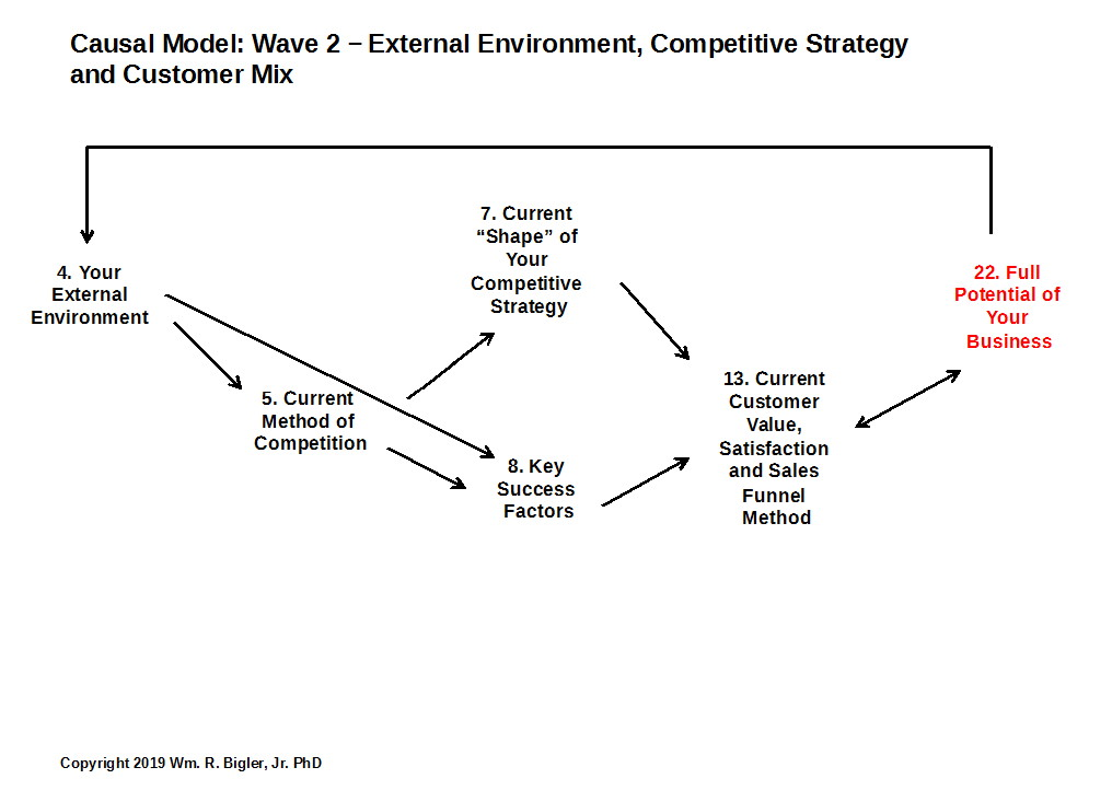 Wave 2: External Environment, Competitive Strategy and Customer Mix